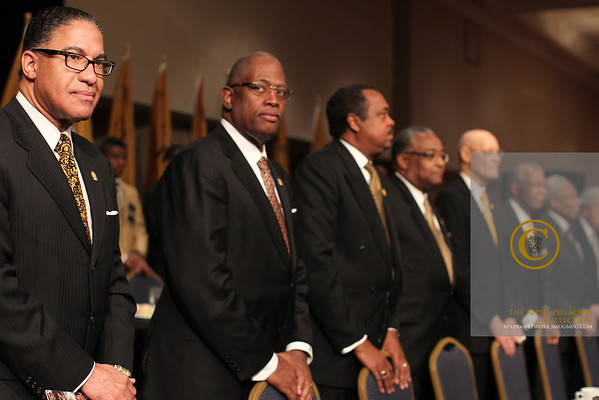 Alpha Phi Alpha Fraternity, Inc. General President Mark S. Tillman Inauguration in Detroit, MI.
