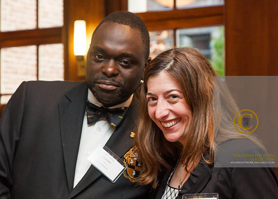 Alpha NY District Director, Lucien Metellus and MOD VP, Lauren Perlmutter