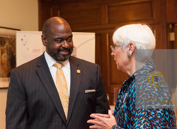 President Tillman and Dr. Howse